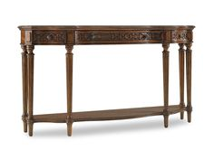 Hooker Furniture Living Room Three Drawer Thin Console 5048-85122 - Paul Schatz Furniture - Tigard & Eugene, OR