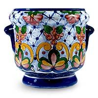 Majolica Garden from @NOVICA, They help #artisans succeed worldwide.