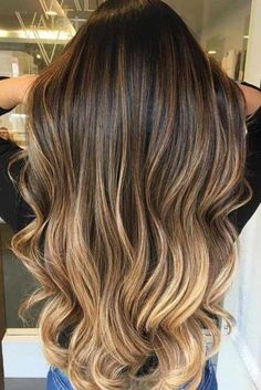 Braun blond bilder haarfarbe 50 Stilvolle