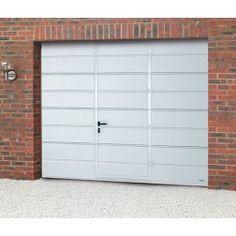 Novoferm ISO45 Large Ribbed Sectional Wicket Garage Door