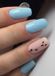 40 Stylish Easy Nail Polish Art Designs for This Summer for 2019 – Page 7 of 40 – Daily Posts for Women Simple Nail Art Designs, Easy Nail Art, Cool Nail Art, Easy Art, Gel Polish Colors, Nail Polish Art, Nail Colors, Cute Nails, Pretty Nails