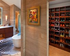 Amazing shoe storage!