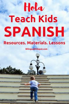 Teach Kids Spanish - Extensive Resources, Materials, Lessons Spanish Vocabulary, Spanish Language Learning, Teaching Spanish, Teaching Kids, Kids Learning, Spanish Songs, Spanish Lessons, Spanish Class, Language Study