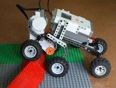 Phase I-Robot Design FLL for rough terrain Robotics Projects, Lego Projects, Projects For Kids, Lego Nxt, Lego Robot, Robot Arm, Lego Mindstorms, Lego Technic, Lego Design