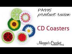 Maggie's Crochet · CD Coasters Set 1 Crochet Pattern