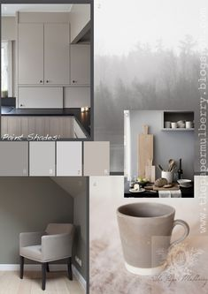 Soft, neutral paint shades create a calm environment for all areas of the home. Contemporary tones inspired by nature are offset against  na...