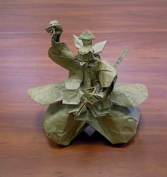 An assortment of amazing looking origami models from Japanese culture and mythology from many talented origami artists. Origami Artist, Japanese Mythology, Origami Models, Japanese Culture, Amazing, Awesome, Angles, Inspiration, People