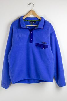 PATAGONIA FLEECE / light blue patagonia pullover by FormerWorthy