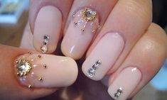 The trend of nail designs and the Nail's decoration in your hands it will continue to be a fashion of beauty this year, which is becoming much Love Nails, How To Do Nails, Pretty Nails, My Nails, Simple Nail Art Designs, Cute Nail Designs, Easy Nail Art, Nail Polish Trends, Nail Decorations