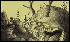 Post-Its MonsterDrawings
