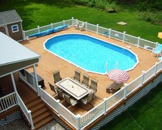 Cool Above Ground Swimming Pools Ideas