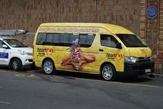 "Heart 104.9fm - taxi for the ""We're turning up the R'nB"" campaign. By www.the-greenhouse.co.za"