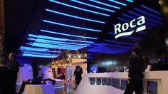 The international bathroom appliances company Roca desired to present its art and design affinity at the 100% Design 2010exhibition in London.  This would not have been achieved by showing their exisiting high level design products conventionally, but by presenting their trade fair stand as an art installation.