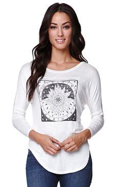 LA Hearts Tarot Star Raglan T-Shirt #pacsun