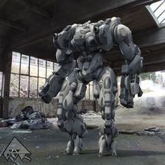 ArtStation - Robot Beta1 -OYK Games-, Max Puliero