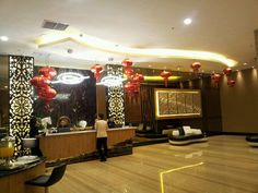 Chinese New Year Decoration by www.liengallery.com at Duta Golden Tulip Galaxy Hotel - Banjarmasin / Borneo