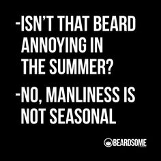 Im not a beard love