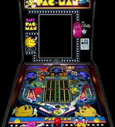 How many of you remembered that Baby Pac-Man was part arcade game and part pinball machine? (raising hand)