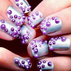 These remind me of the Little Mermaid nails