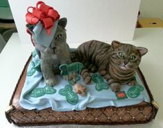 cat for cat lovers - Cake by ann