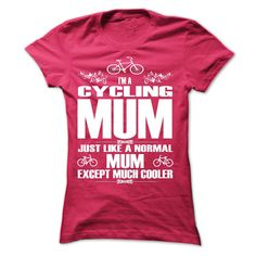 LIMITED EDITION - CYCLING MUM -ah T-Shirts, Hoodies, Sweaters