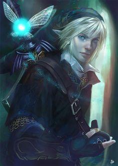 Fanart da Semana: Raquel Cornejo cria ilustrações realistas de Zelda e Link | Hyrule Legends