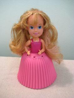 Cupcake doll.