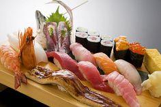 寿司盛り合わせ assorted sushi