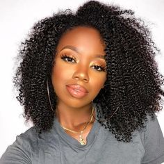 U Part Wigs For Women Brazilian Kinky Curly U Part Human Hair Wig 130% Density  You May Hair Products Remy Hair