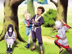 Sarotobi and 3 sannin