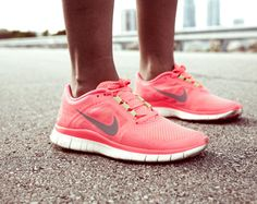 The bright Nikes