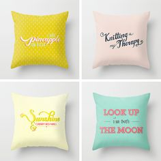 kind of style - society6 pillows