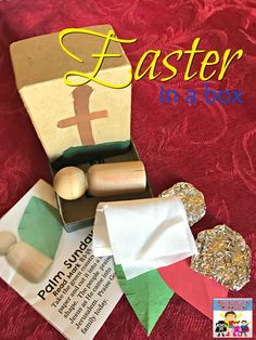 Easter in a box, great Easter craft for kids