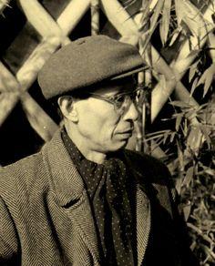 Portrait of Kitasono Katue , 1959 . Kansuke Yamamoto, ©Toshio Yamamoto.