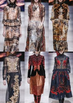 Milan Fashion Week Womenswear Print Highlights Part 1 – A/W 15/16