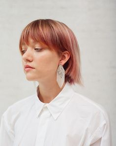 The Parallelogram Earrings from Hannah Keefe available now