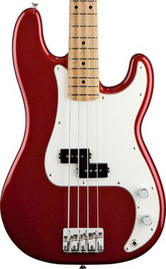 Fender Precision Bass...in candy apple red....beautiful!