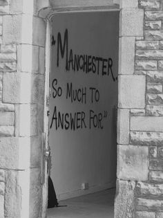 manchester so much to answer for