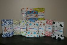 NEW Custom Lot of 8 Kawaii Cloth Diapers Goodnight Heavy Wetter- One Size