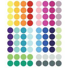 Confetti (multicolor #1) - Muurstickers