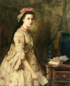 Sir John Everett Millais -- Stella, 1868