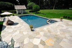 Designing a Pool #Backyard #Landscaping #SwimmingPool