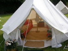 If you have to go camping... this is the tent