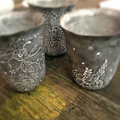 Swoon Lounge #etching #decorativedesign #ceramics