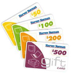 Harvey Norman - Harvey Norman Gift Cards