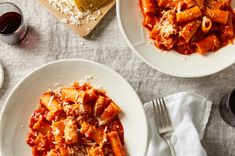 One-Pot Tomatoey, Cheesy Pasta with Shallots Recipe on Food52, a recipe on Food52