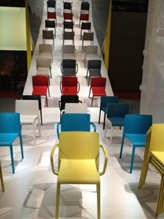 Pedrali's new Volt chair from Milan 2013