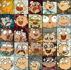An assortment of Flapjack's many emotive expressions (The Marvelous Misadventures of Flapjack --- Cartoon Network Watch Cartoons, Old Cartoons, Animated Cartoons, Cartoon Art, Cartoon Characters, Misadventures Of Flapjack, Old Cartoon Shows, Expression Sheet, Cartoon Network Shows