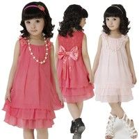 I think you'll like 2014 Big Shop New Baby Kids Girls Summer Sleeveless Dress Chiffon Princess Dresses 5-9 Years. Add it to your wishlist!  http://www.wish.com/c/54004eb27f086e1bf9ac0f97