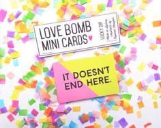Love Bombs // Mini Cards - Lucky Dip!